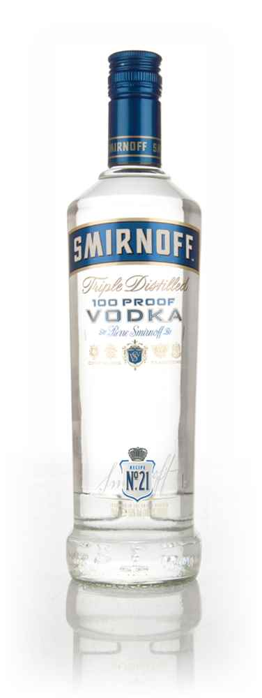 Smirnoff No. 21 100 Proof