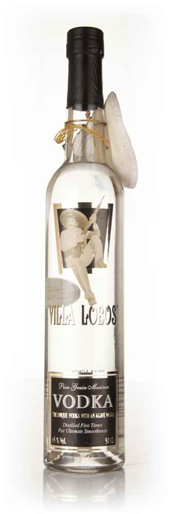 Villa Lobos Mexican Vodka with Agave Worm