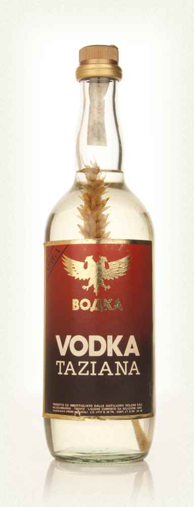 Taziana Vodka - 1970s
