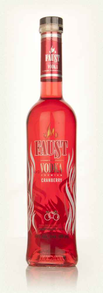 Faust Cranberry Vodka