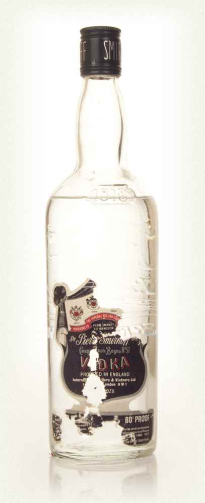 Smirnoff Vodka 75cl - 1970s