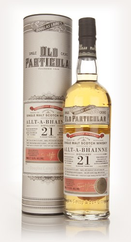 Allt-A-Bhainne 21 Year Old 1992 (cask 10035) - Old Particular (Douglas Laing)