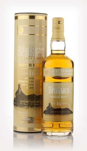 BenRiach 16 Year Old Sauternes Finish
