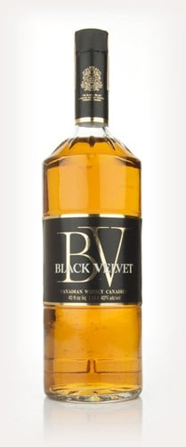 Black Velvet Blended Canadian Whisky - 1970