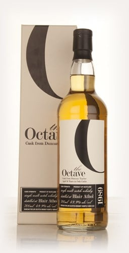 Blair Athol 24 Year Old 1989 (cask 325315) - The Octave (Duncan Taylor)