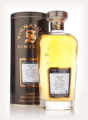 Caol Ila 27 Year Old 1983 Cask 5283 - Cask Strength Collection (Signatory)