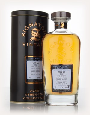 Caol Ila 30 Year Old 1982 (cask 6483) - Cask Strength Collection (Signatory)