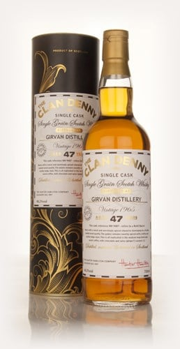 Girvan 47 Year Old 1965 (cask 9487) - The Clan Denny (Douglas Laing)