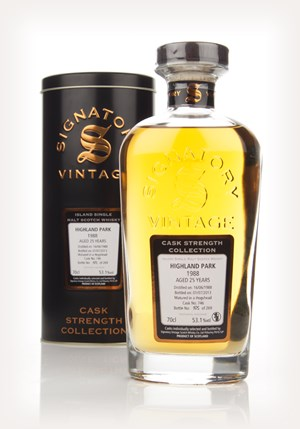 Highland Park 25 Year Old 1988 (cask 746) - Cask Strength Collection (Signatory)