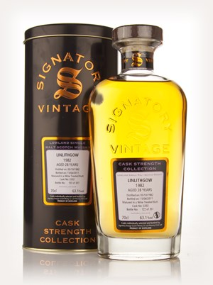 Linlithgow 28 Year Old 1982 Cask 2202 - Cask Strength Collection (Signatory)