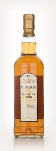 Macallan 17 Year Old 1990 - Mission (Murray McDavid)