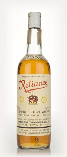 Reliance Blended Scotch Whisky - 1970s