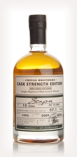 Scapa 15 Year Old 1993 - Cask Strength Edition (Chivas Brothers)