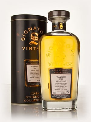 Teaninich 27 Year Old 1983 - Cask Strength Collection (Signatory)