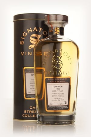 Teaninich 29 Year Old 1983 (cask 8071) - Cask Strength Collection (Signatory)