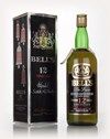 Bell's 12 Year Old De Luxe 1l - 1980s