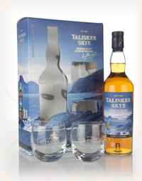 Talisker Skye Gift Pack with 2x Glasses