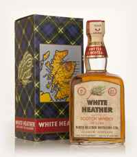 White Heather Blended Scotch Whisky - 1960s
