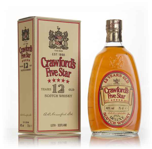 Crawford's Five Star 12 Year Old - 1980s