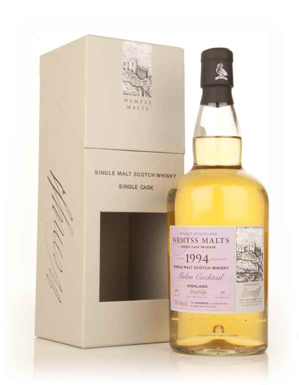 Melon Cocktail 1994 - Wemyss Malts (Aberfeldy)