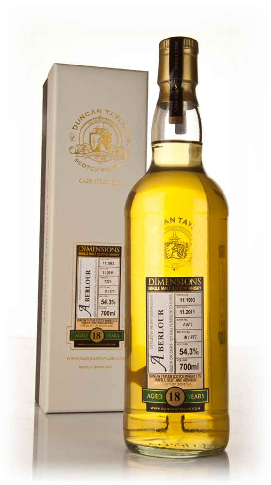 Aberlour 18 Year Old 1993 - Dimensions (Duncan Taylor)