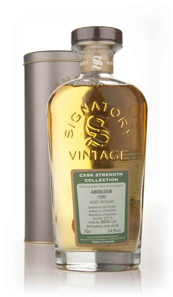 Aberlour 19 Year Old 1990 Cask 101773 - Cask Strength Collection (Signatory)