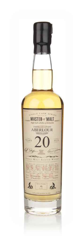 Aberlour 20 Year Old 1992 - Single Cask (Master of Malt)