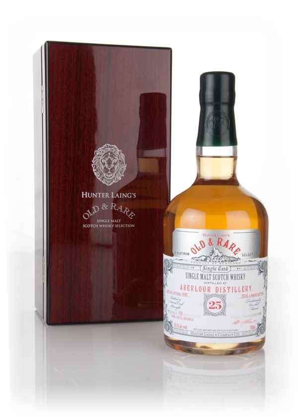 Aberlour 25 Year Old 1990 - Old & Rare Platinum (Hunter Laing)