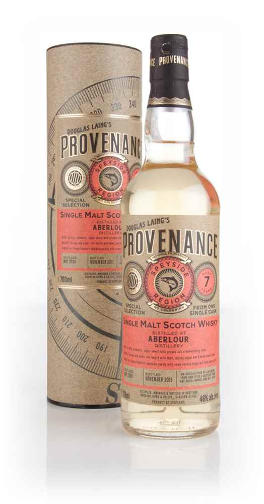 Aberlour 7 Year Old 2008 (cask 10976) - Provenance (Douglas Laing)