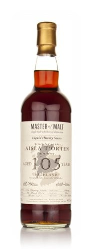 Aisla T'Orten 105 Year Old 1906 - Liquid History (Master of Malt)