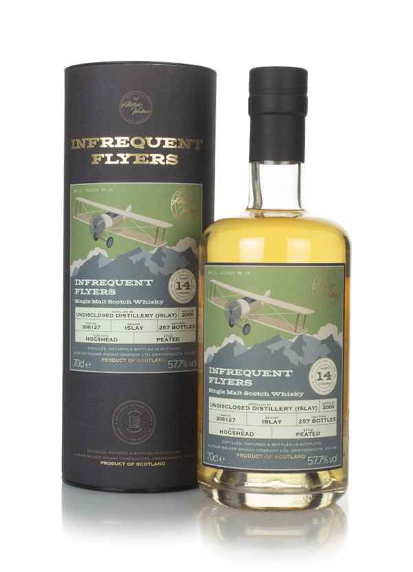 Undisclosed Islay 14 Year Old 2006 (cask 306127) - Infrequent Flyers (Alistair Walker)