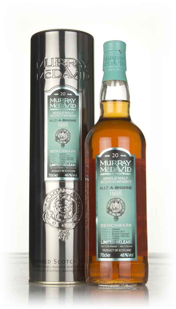 Allt-á-Bhainne 20 Year Old 1995 (cask 130002) - Benchmark (Murray McDavid)