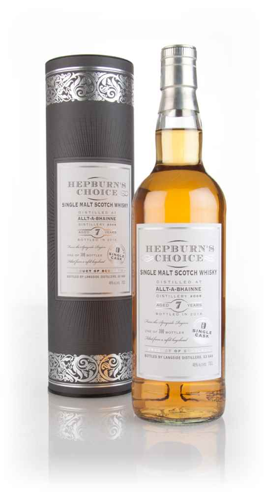 Allt-à-Bhainne 7 Year Old 2008 (bottled 2016) - Hepburn's Choice (Langside)