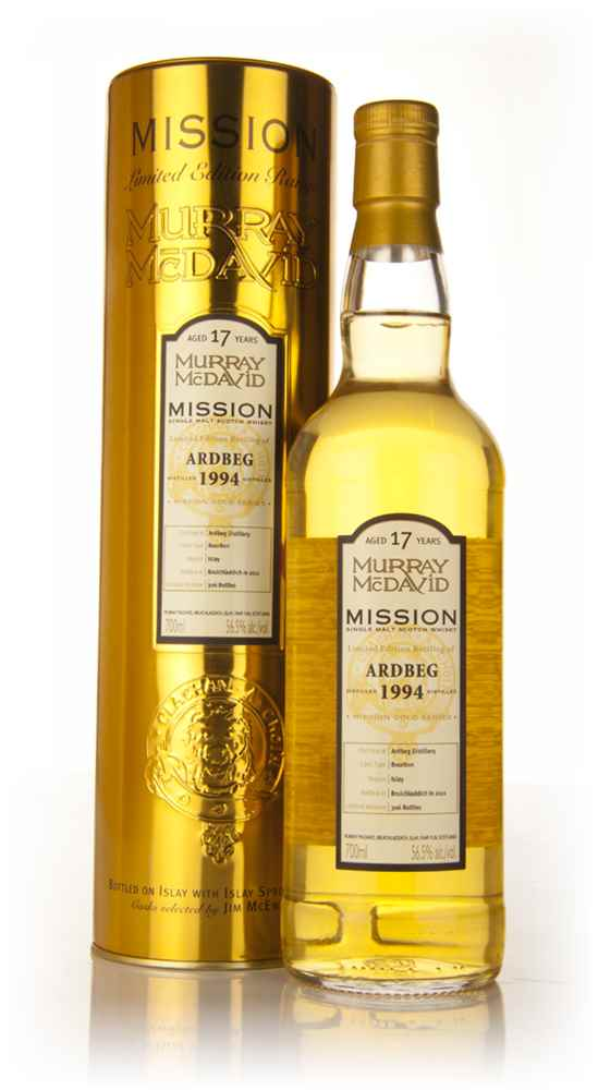 Ardbeg 17 Year Old 1994 - Mission (Murray McDavid)