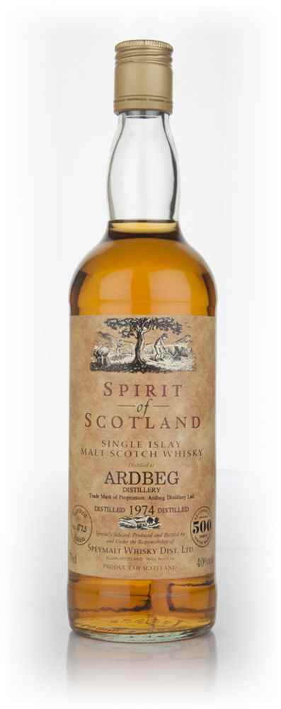 Ardbeg 1974 (Spirit of Scotland)