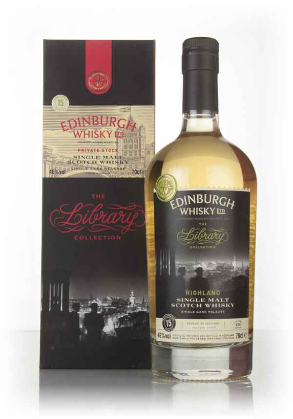Ardmore 15 Year Old 2002 - The Library Collection (Edinburgh Whisky Ltd.)