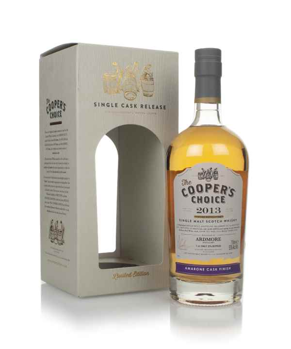Ardmore 7 Year Old 2013 (cask 9066) - The Cooper's Choice (The Vintage Malt Whisky Co,)