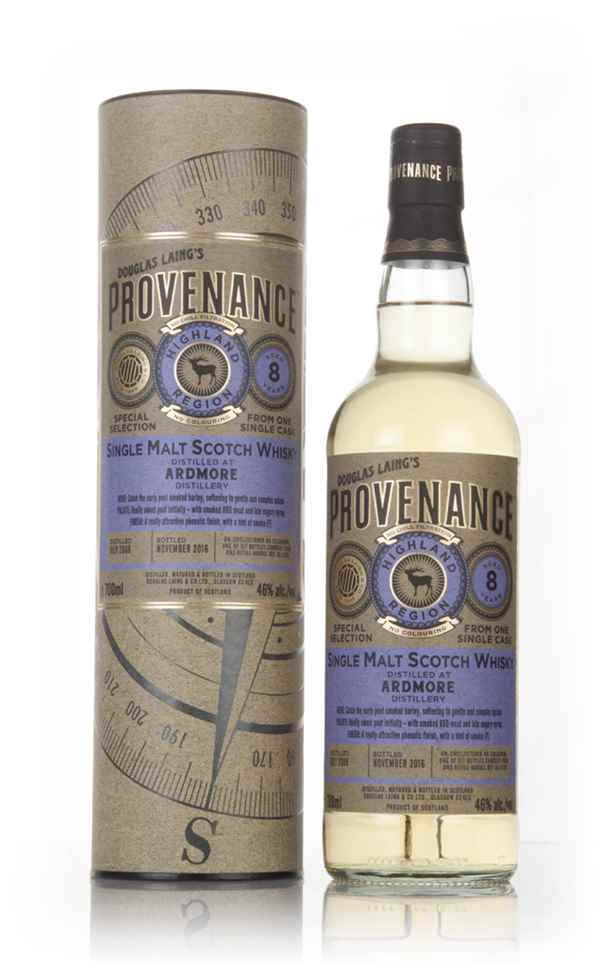 Ardmore 8 Year Old 2008 (cask 11536) - Provenance (Douglas Laing)