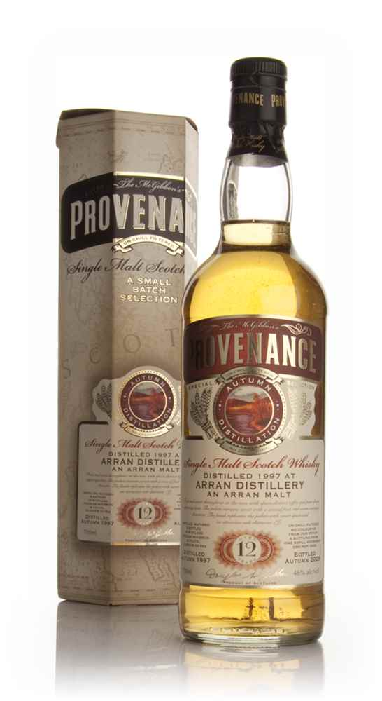 Arran 12 Year Old 1997 - Provenance (Douglas Laing)