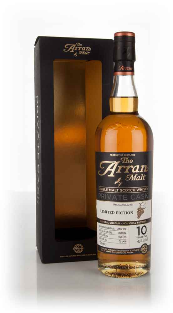 Arran 10 Year Old 2004 (cask 2004/012) - Private Cask