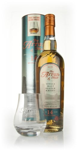 Arran 14 Year Old With Tasting Glass