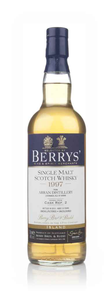 Arran 16 Year Old 1997 (cask 2) (Berry Bros & Rudd)
