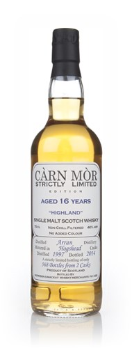 Arran 16 Year Old 1997 - Strictly Limited (Càrn Mòr)