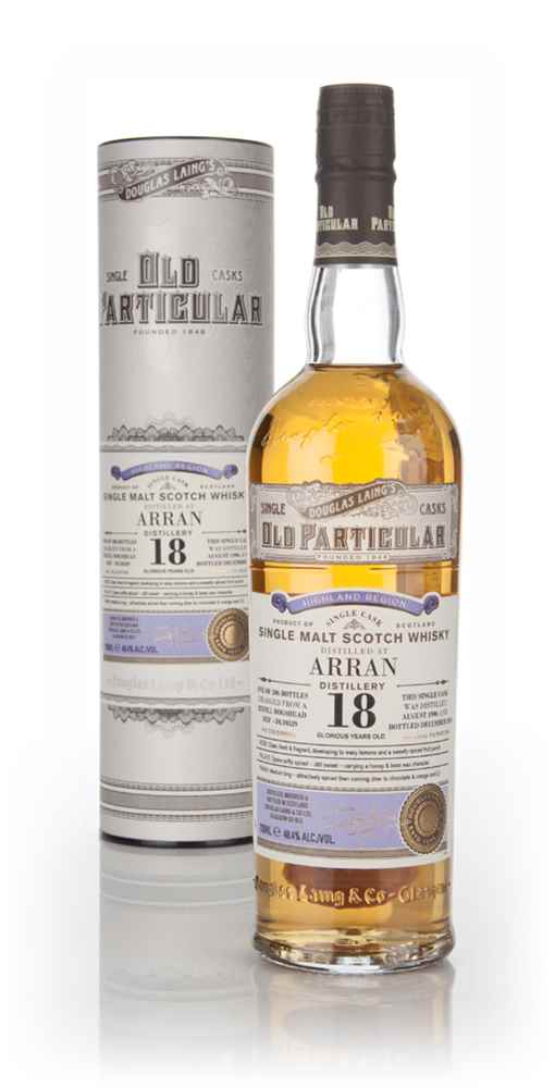 Arran 18 Year Old 1996 (cask 10529) - Old Particular (Douglas Laing)