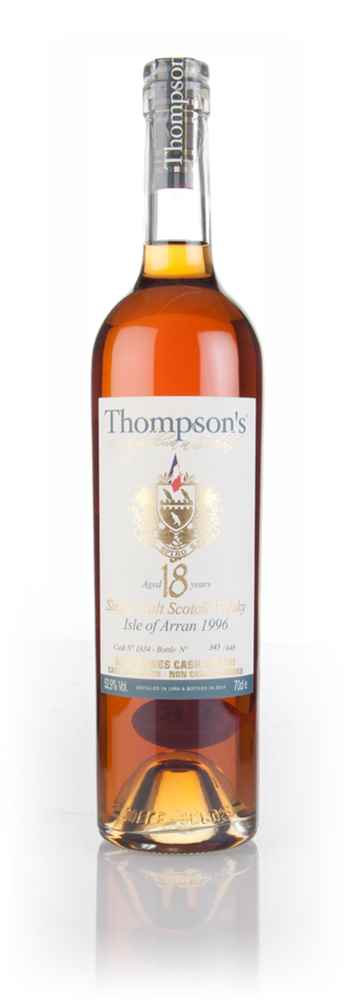 Arran 18 Year Old 1996 (cask 1834) - Thompson's
