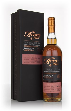 Arran Premium Single Cask 1996 (cask 1963) - Sherry Cask