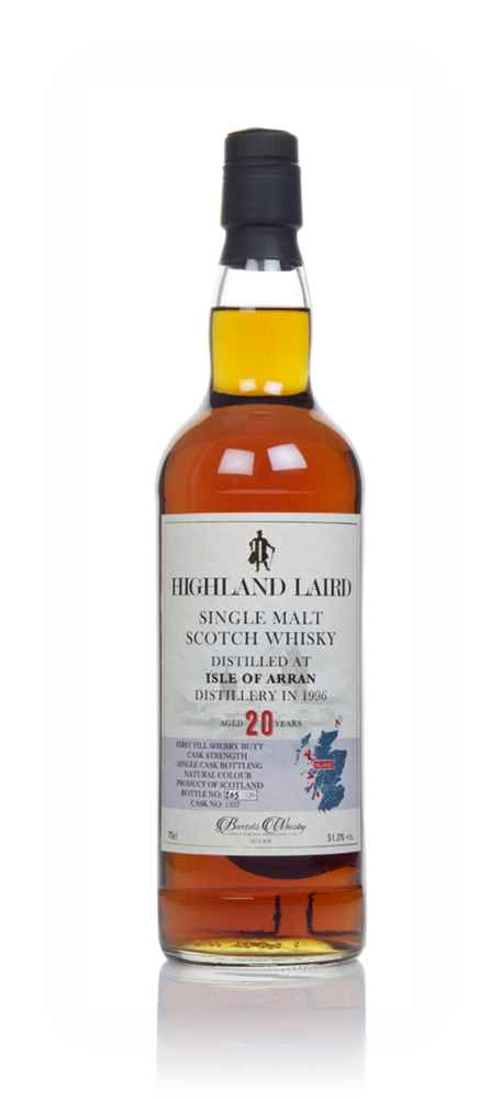 Arran 20 Year Old 1996 (cask 1337) - Highland Laird (Bartels Whisky)