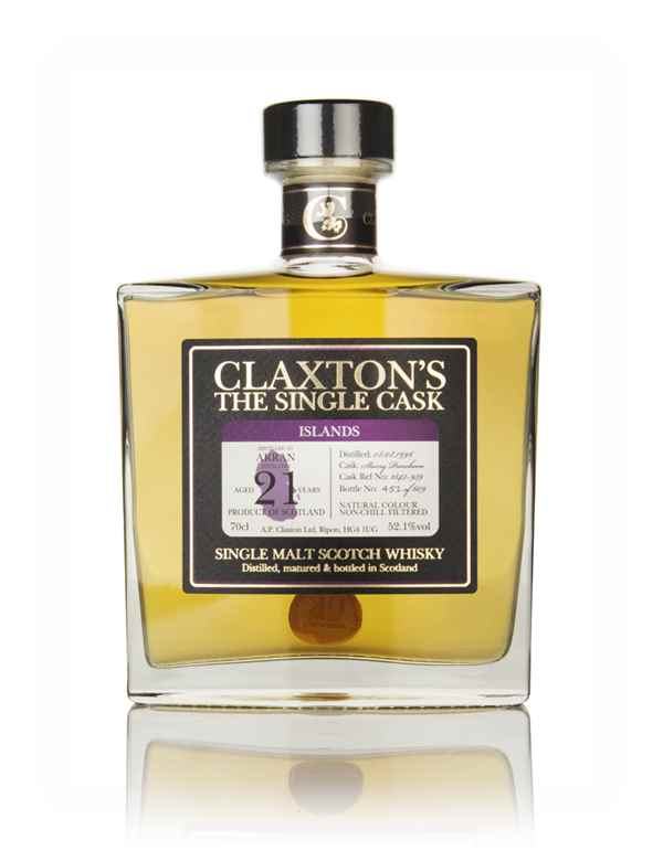 Arran 21 Year Old 1996 (cask 1843-939) - Claxton's