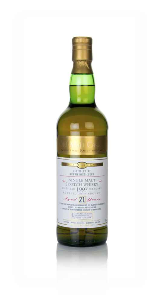 Arran 21 Year Old 1997 - Old Malt Cask (Hunter Laing)