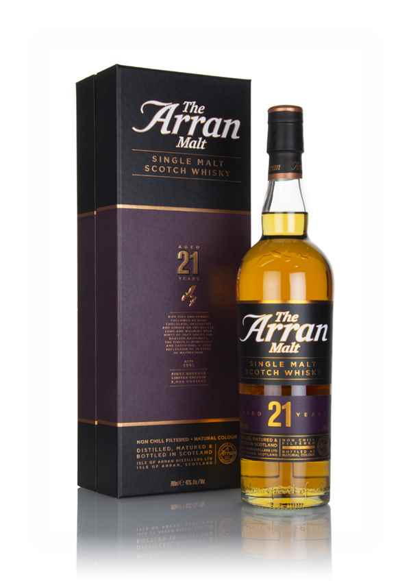 Arran 21 Year Old (Old Bottling)
